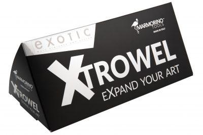 XTROWEL viimeistelylastan pakkaus detaljikuva 1